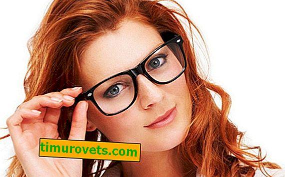 Jak rozlišit sklo od plastu s brýlemi?