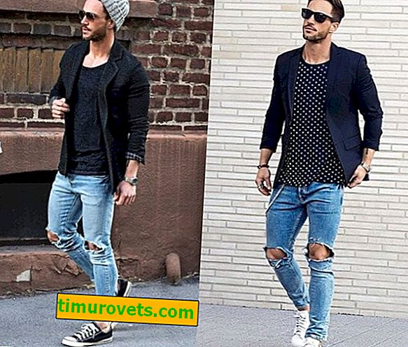How to choose shoes for jeans and a jacket?