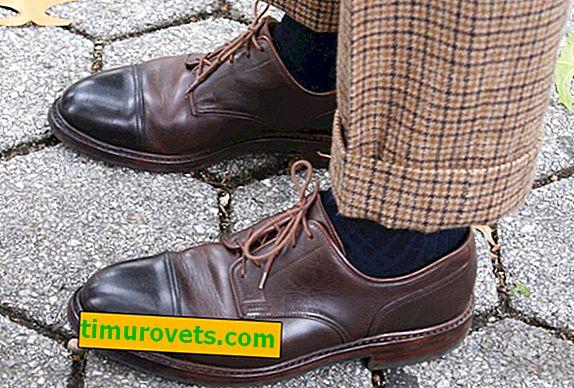 Английски марки обувки