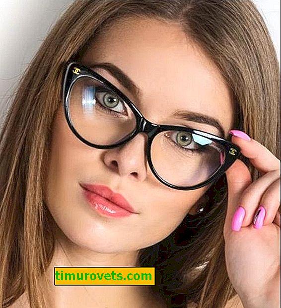 ¿Cómo deben sentarse las gafas?