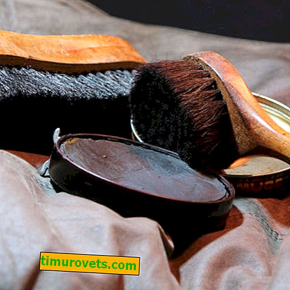 DIY shoe polish