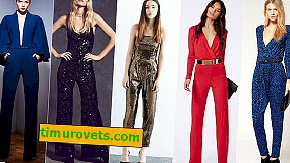 How to wear jumpsuit so as not to look monotonous
