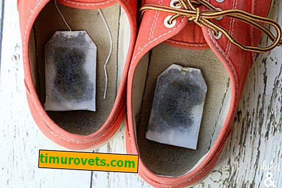 Čajne vrećice za miris cipela