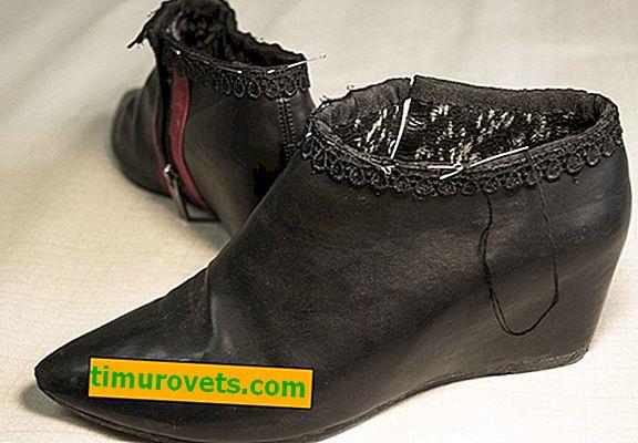Sådan fremstilles lukkede sko af støvler