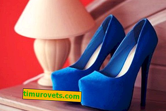 Blue shoes: what to wear?