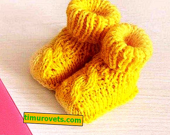 Knitting needles without seams