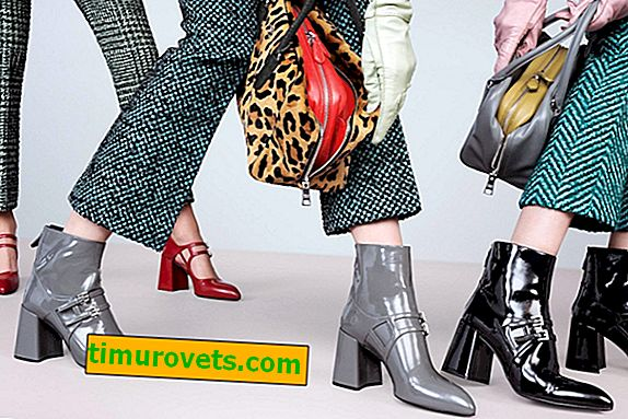 Lacquered shoes as a trend in 2019