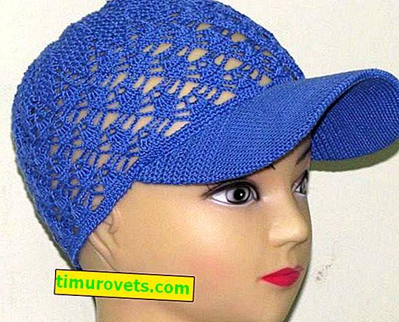Crocheted Women's Cap