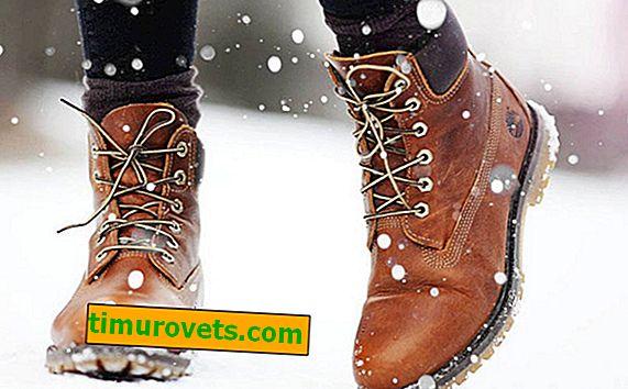 ¿Cómo elegir los zapatos de invierno?