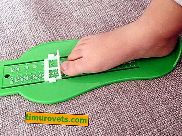 Hvordan man bestemmer størrelsen på sko