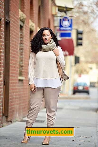 How to choose a wardrobe for autumn overweight woman