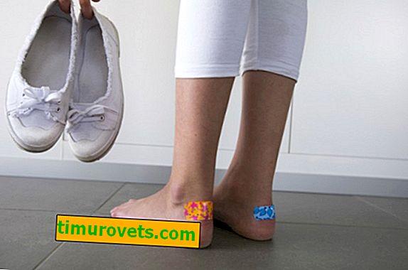 Que faire si les chaussures frottent?